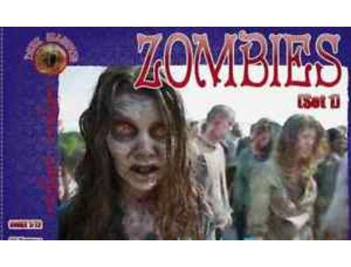 ALLIANCE Zombies (Set 1) 1:72 (72023)