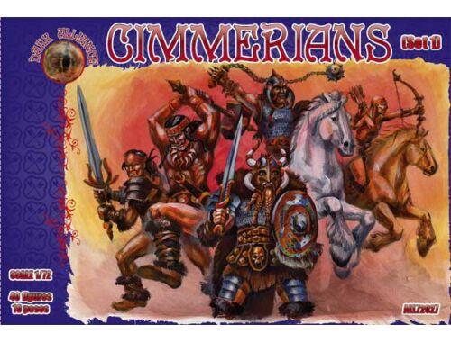 ALLIANCE Cimmerians, Set 1 1:72 (72027)