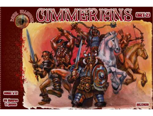 ALLIANCE Cimmerians, Set 2 1:72 (72028)