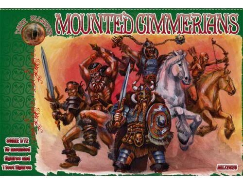 ALLIANCE Mounted Cimmerians 1:72 (72029)