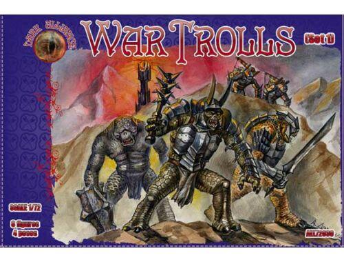 ALLIANCE War Trolls, Set 1 1:72 (72030)