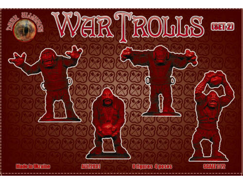 ALLIANCE War Trolls, set 2 1:72 (72031)