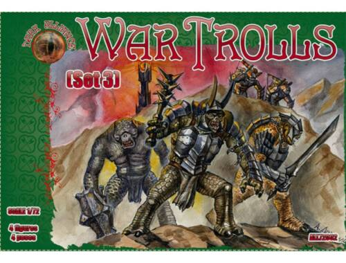 ALLIANCE War Trolls, set 3 1:72 (72032)