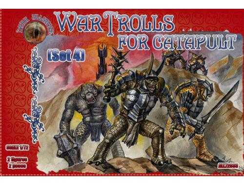 ALLIANCE War Trolls for catapult, set 4 1:72 (72033)