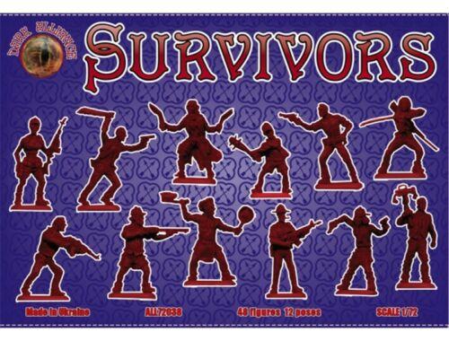 ALLIANCE Survivors (antizombies) 1:72 (72038)