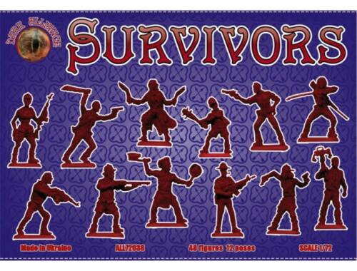 ALLIANCE Survivors (antizombies) 1:72 (72038)