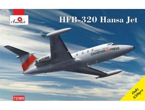 Amodel HFB-320 Hansa Jet, Charter Express 1:72 (72365)