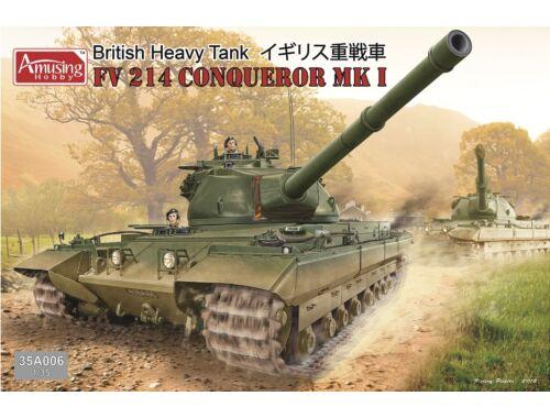 Amusing H. British Tank FV214 Conqueror Mk I 1:35 (35A006)