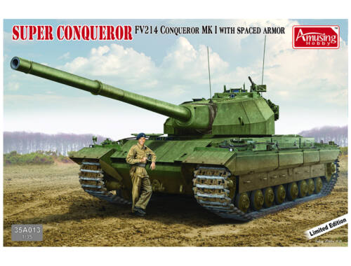 Amusing H. FV214 Conqueror MK I *Limited Edition* with SPACED Armor 1:35 (35A013)