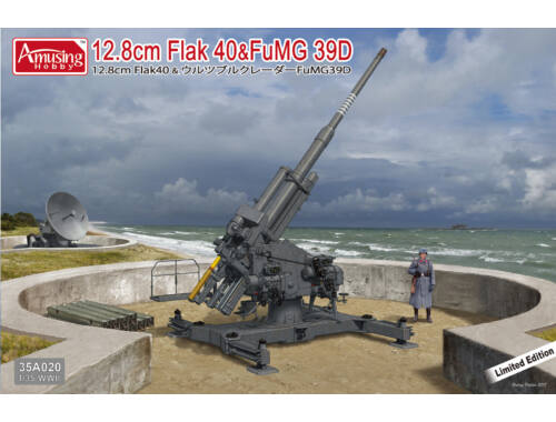 Amusing H. 12.8cm Flak 40