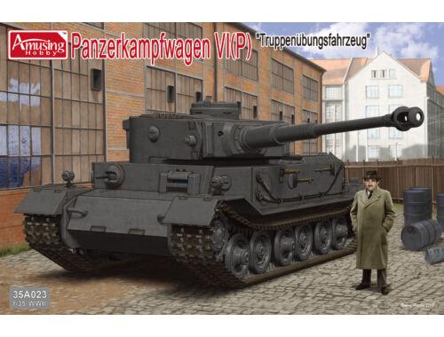 Amusing H. Pz.Kpfw.VI Tiger(P) 1:35 (35A023)