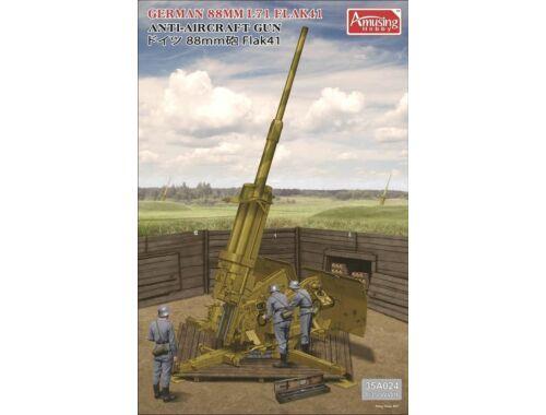 Amusing H. German 88MM L71 FLAK41 504 kitsx1/35 1:35 (35A024)