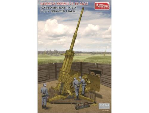 Amusing H. German 88MM L71 FLAK41 504 kitsx1/35 1:35 (35A024)