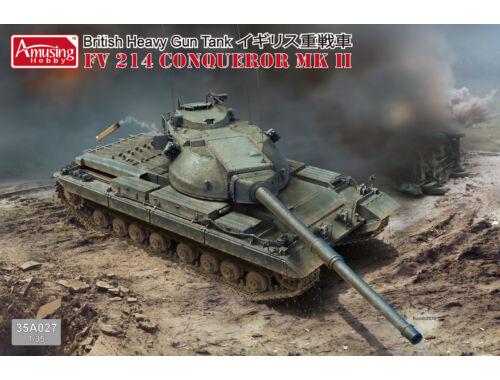 Amusing H. British Tank FV 214 Conqueror MK II 1:35 (35A027)