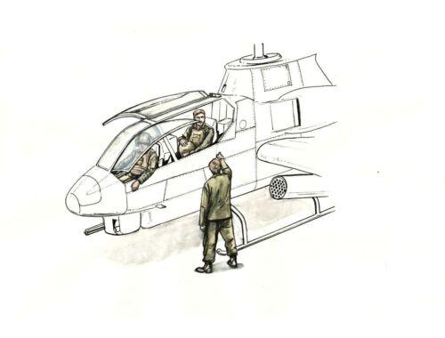 CMK AH-1 Sitting pilots (2 figures)a. ground crew(1 figure) f.SpecialHobby 1:72 (F72349)