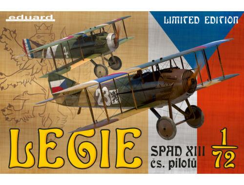 Eduard Legie-SPAD XII cs.pilotu,Limited Edition 1:72 (2126)