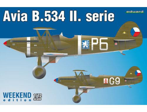 Eduard B-534 II. serie Weekend Edition 1:72 (7448)