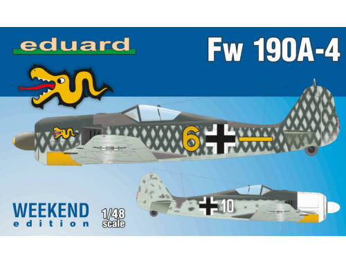 Eduard Fw 190A-4, Weekend Edition 1:48 (84121)