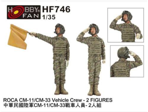 Hobby Fan ROCA CM-11/CM-33 Vehicle Crew-2 Figures 1:35 (HF746)