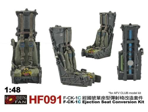 Hobby Fan F-CK-1C Ejection Seat Conversion kit for AR48108 1:48 (HF091)