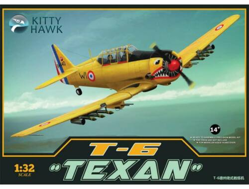 Kitty Hawk T-6 Texan Harvard II 1:32 (KH32002)