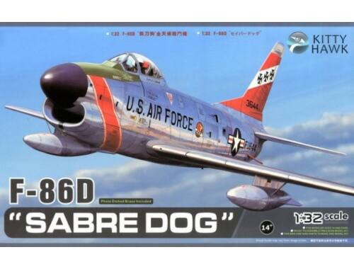 Kitty Hawk F-86D Sabre Dog 1:32 (KH32007)