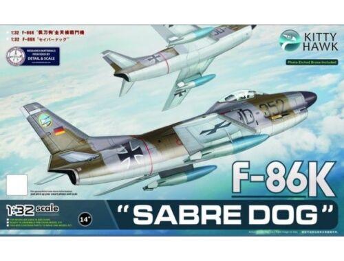 Kitty Hawk F-86K Sabre Dog 1:32 (KH32008)