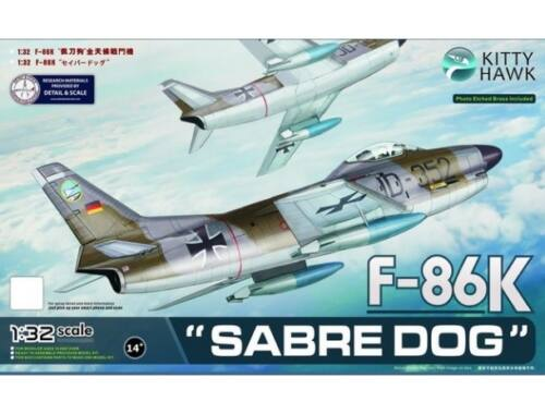Kitty Hawk F-86K Sabre Dog 1:32 (KH32008)
