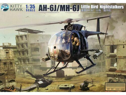 Kitty Hawk AH-6J/MH-6J Little Bird Nightstalkers 1:35 (50003)