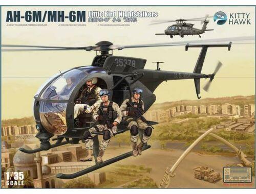 Kitty Hawk AH-6J/MH-6J Little Bird (with figures) 1:35 (50004)
