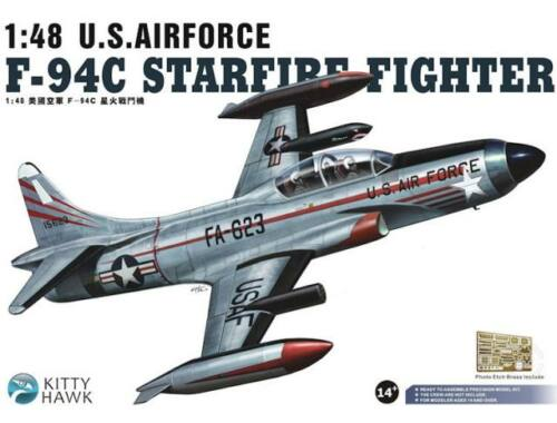Kitty Hawk F-94C Starfire Fighter U.S.Airforce 1:48 (KH80101)