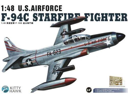 Kitty Hawk F-94C Starfire Fighter U.S.Airforce 1:48 (KH80101)