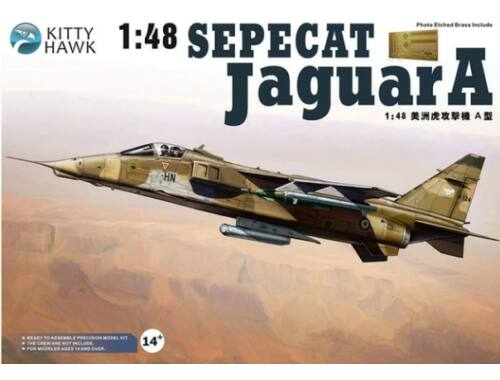 Kitty Hawk Jaguar A Sepecat 1:48 (80104)
