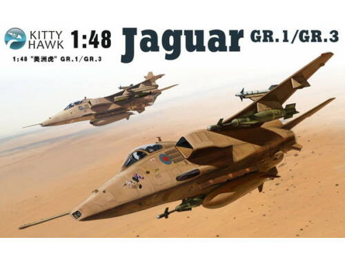 Kitty Hawk Jaguar GR.1/3 Sepecat 1:48 (KH80106)