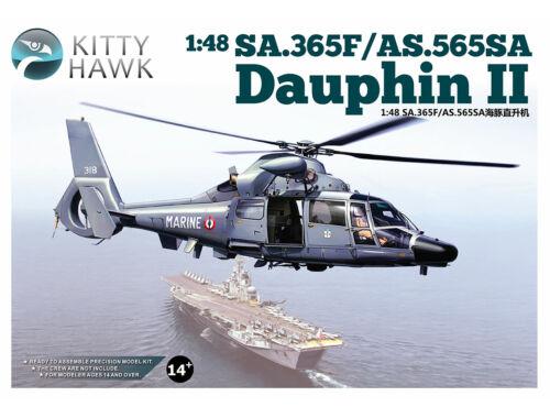 Kitty Hawk SA.365F/AS.565SA Dauphin II 1:48 (80108)
