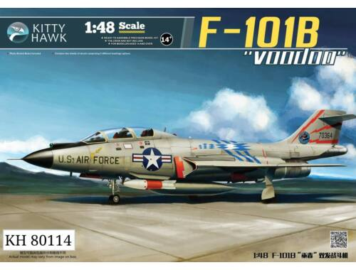 "Kitty Hawk F-101B/RF-101B ""Voodoo"" 1:48 (KH80114)"