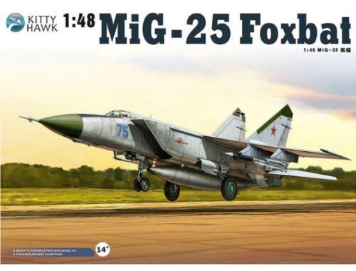 """Kitty Hawk MiG-25 PD/PDS """"Foxbat"""" 1:48 (KH80119)"""