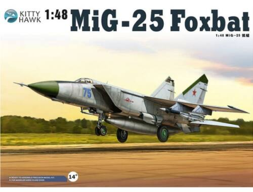 """Kitty Hawk MiG-25 PD/PDS """"Foxbat"""" 1:48 (80119)"""