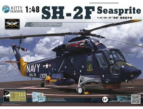 """Kitty Hawk SH-2F """"Seasprite"""" 1:48 (80122)"""