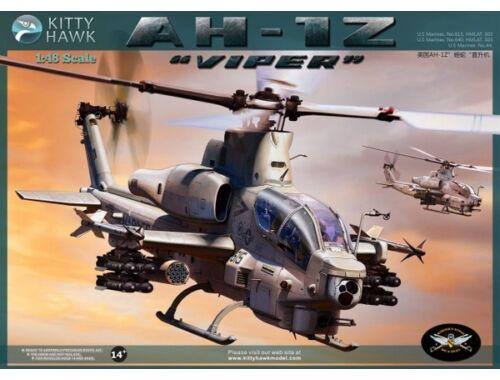 """Kitty Hawk AH-1Z """"Viper"""" 1:48 (80125)"""