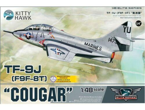 "Kitty Hawk TF-9J ""Cougar"" 1:48 (KH80129)"