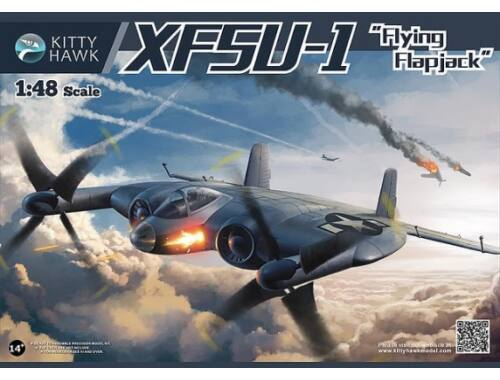 Kitty Hawk XF5U-1 Flying Pancakes 1:48 (80135)