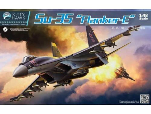 Kitty Hawk Su-35 Flanker-E 1:48 (KH80142)