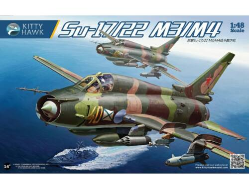 Kitty Hawk Su-17M3/M4 Fitter-K 1:48 (KH80144)