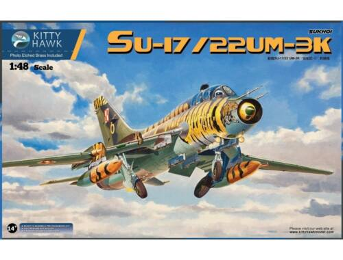 Kitty Hawk Su-17, Su-22UM-3K Fitter G 1:48 (KH80147)
