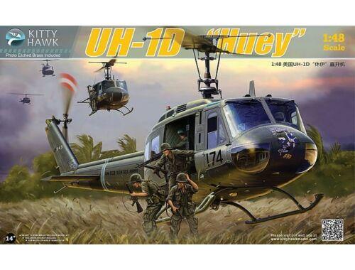 """Kitty Hawk UH-1D """"Huey"""" 1:48 (80154)"""