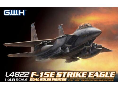 Lion Roar F-15E Strike Eagle Dual-Roles Fighter 1:48 (L4822)