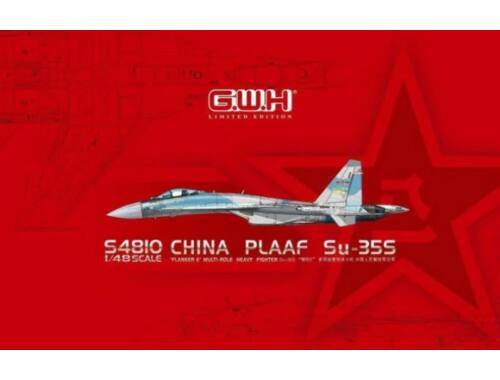 "Lion Roar PLAAF Su-35S""Flanker E""Multirole Fighter Limited Edition 1:48 (S4810)"