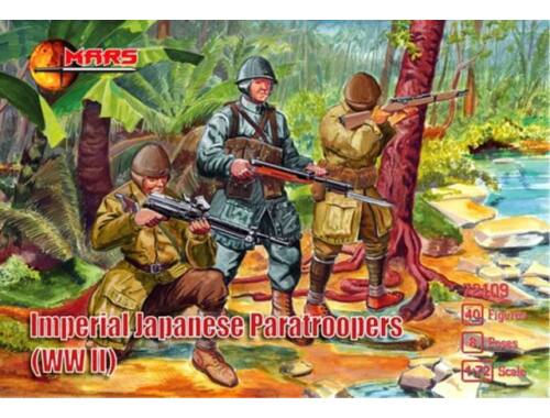 Mars WWII Imperial Japanese paratroopers 1:72 (MS72109)