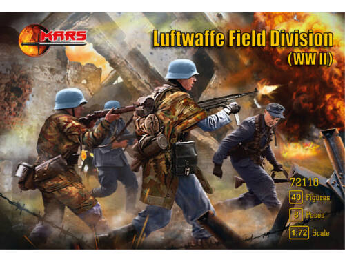 Mars WWII Luftwaffe field division 1:72 (MS72110)
